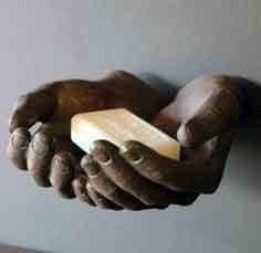 סדנת יצירה-כפות ידיים מבטון וגבס
