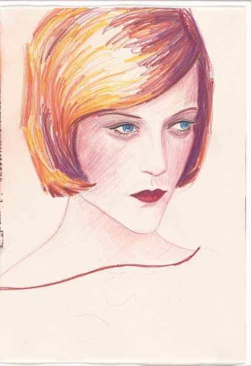 ציור פנים-לימוד, אליזבט פיטון