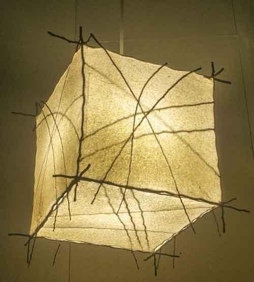 סדנת עיצוב-גופי תאורה מנייר