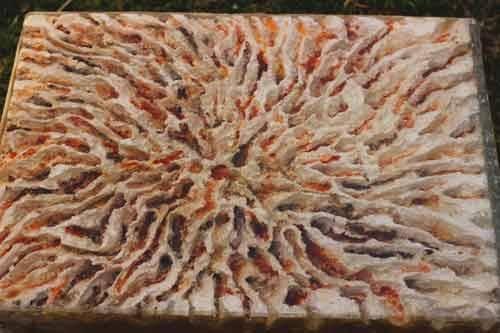 קורסי האפוקסי-משטח עשוי בטון ואפוקסי
