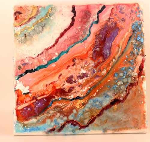 קורסי האפוקסי-תרגיל בצבע