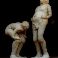 פסלים מחימר -זוגות