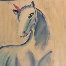 סדנאות העשרה-לילדים ונוער -ציור חדי קרן