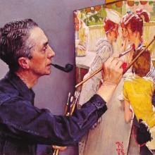 יום הולדת 70 -ציור נוסטלגי