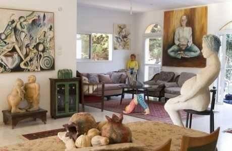 עיצוב הבית: פיסול וציור